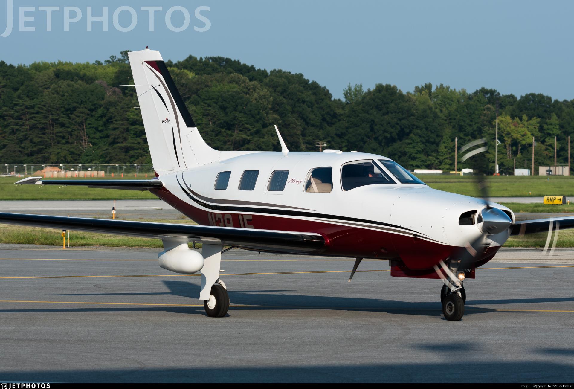 N39JE - Piper PA-46-350P Malibu Mirage - Private