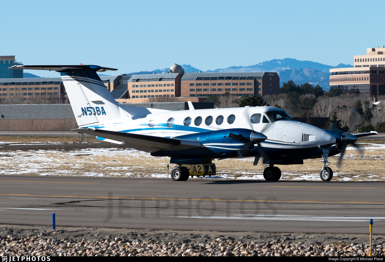 N53BA - Beechcraft 200 Super King Air - Private