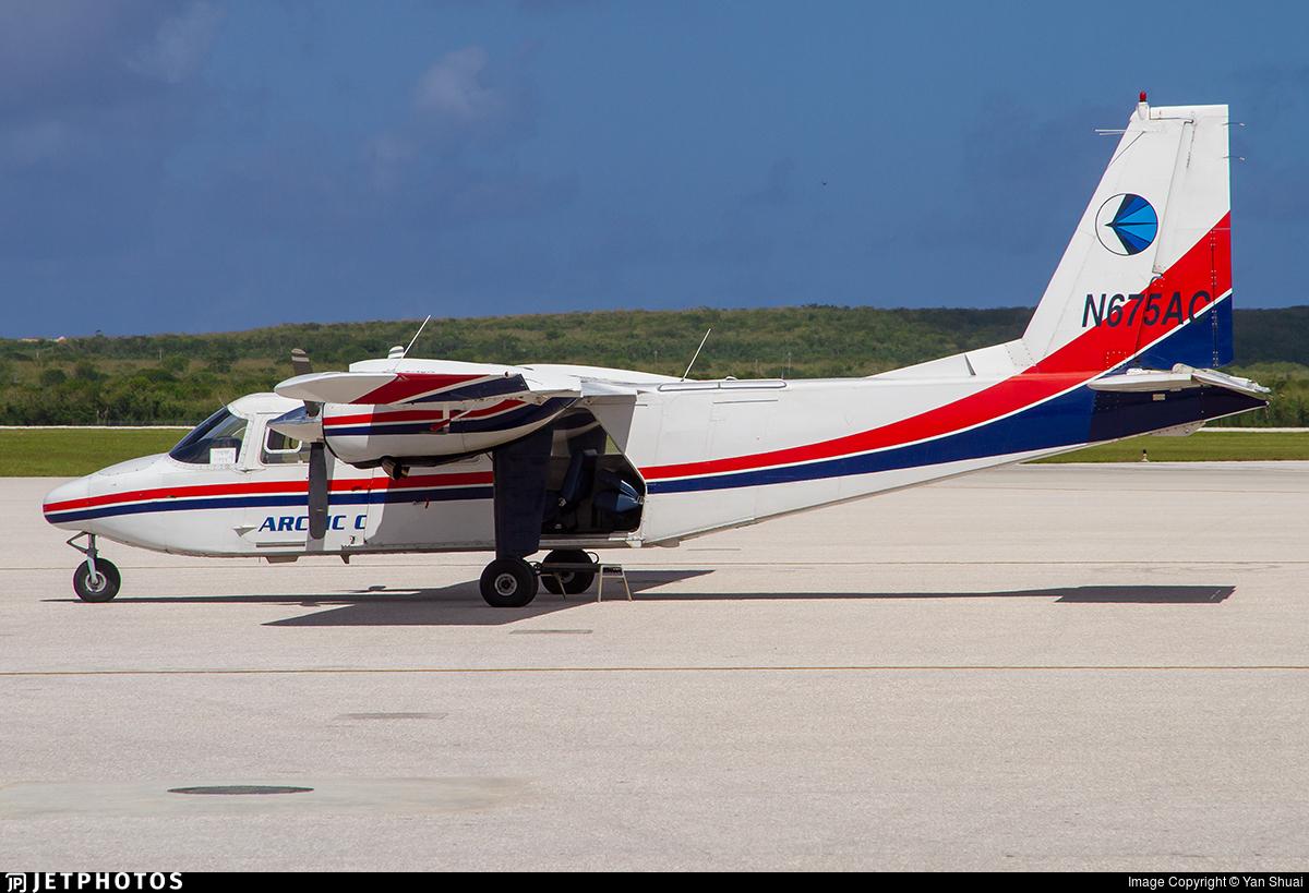 N675AC - Britten-Norman BN-2T Turbine Islander - Private
