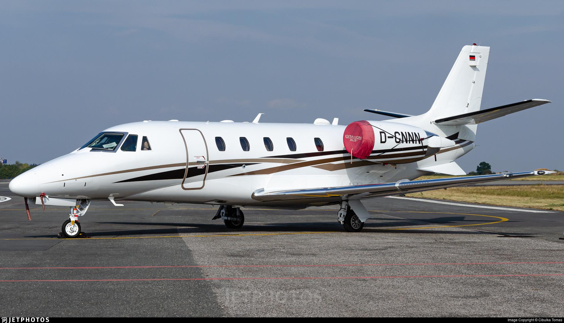 D-CNNN - Cessna 560XL Citation XLS+ - DC Aviation