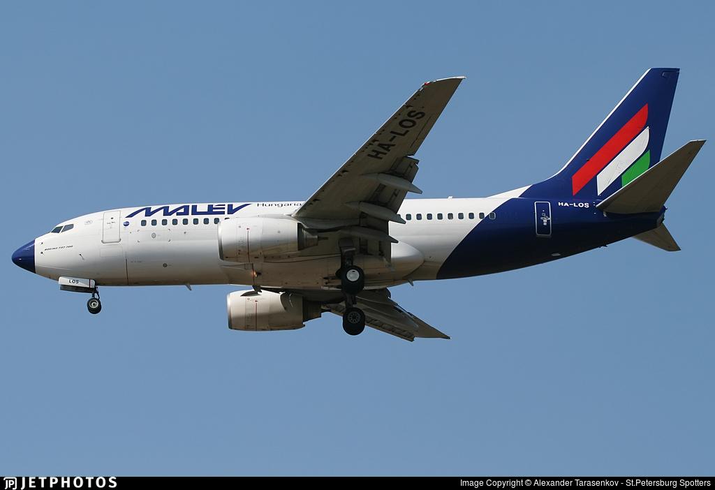 HA-LOS - Boeing 737-7Q8 - Malév Hungarian Airlines
