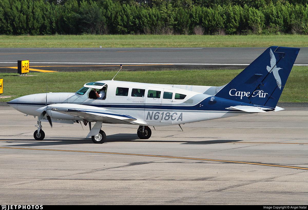 N618CA - Cessna 402C - Cape Air