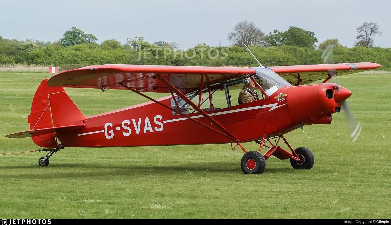 G-SVAS - Piper PA-18-150 Super Cub - Private