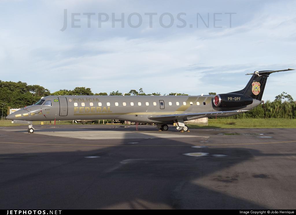 PR-DPF - Embraer ERJ-145ER - Brazil - Federal Police