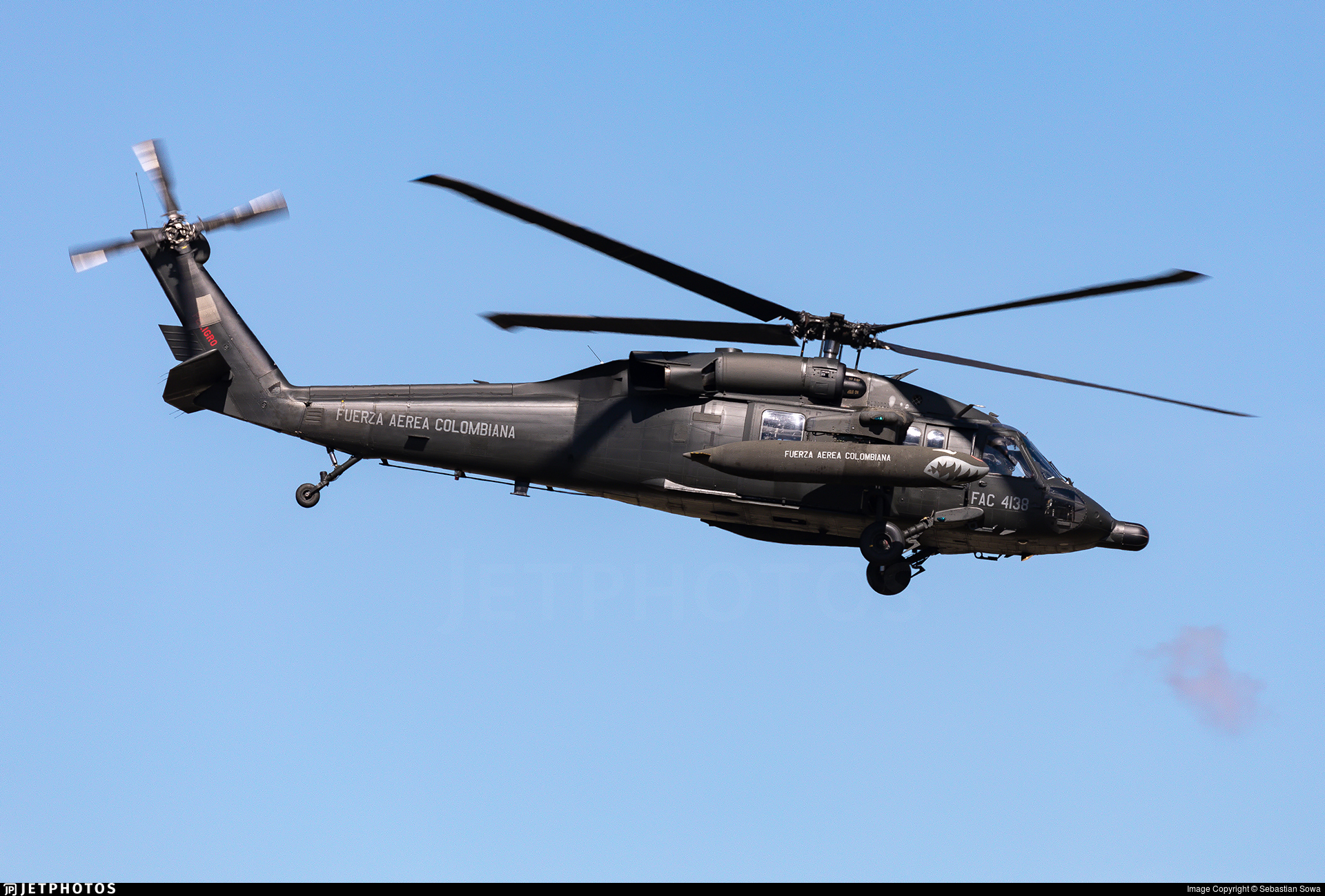 FAC4138 - Sikorsky MH-60L �ngel - Colombia - Air Force