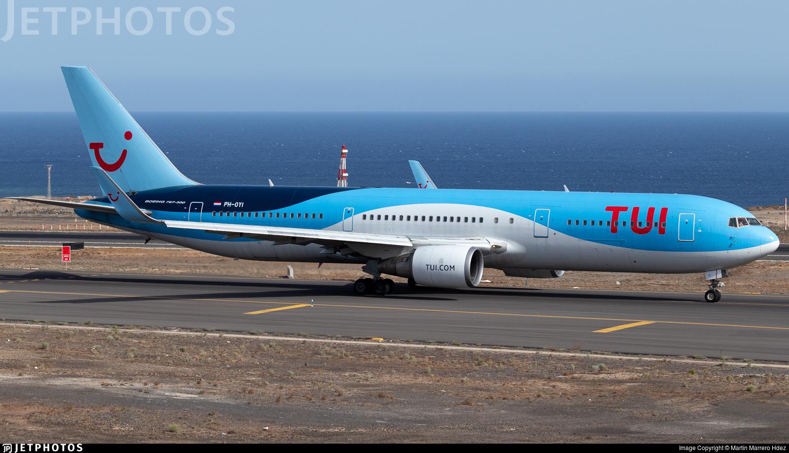 PH-OYI - Boeing 767-304(ER) - TUI