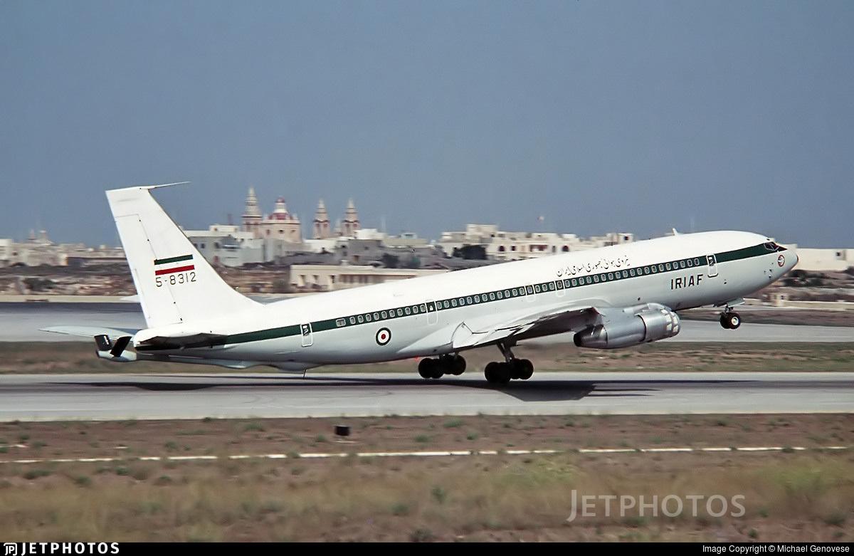 5-8312 - Boeing 707-3J9C - Iran - Air Force