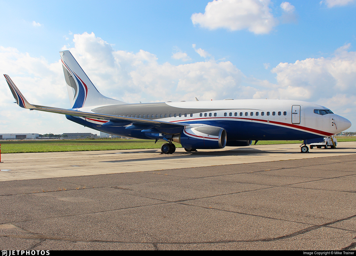 VP-BIZ - Boeing 737-7AU(BBJ) - ACM Air Charter