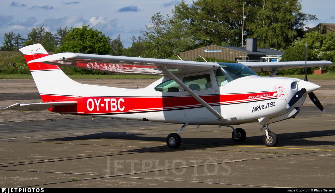 OY-TBC - Cessna TR182 Turbo Skylane RG - Private