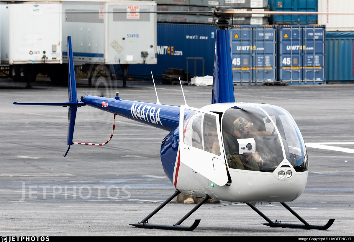 N447BA - Robinson R44 Raven - Private