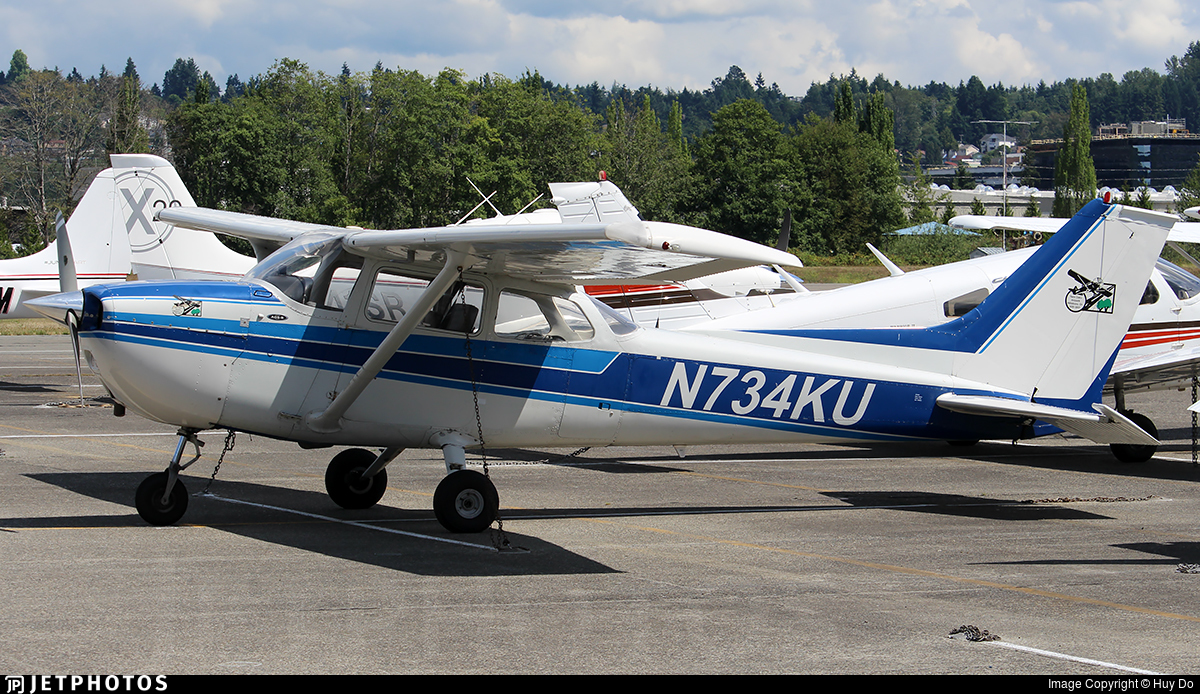 N734KU - Cessna 172N Skyhawk - Private