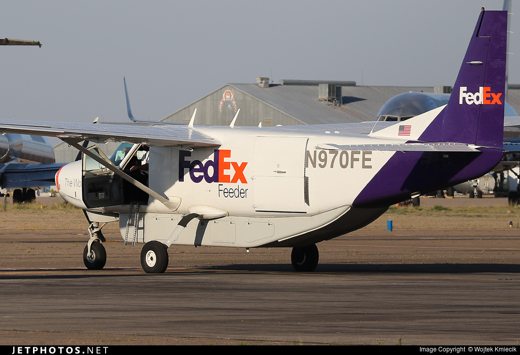 N970FE - Cessna 208B Super Cargomaster - FedEx Feeder (Baron Aviation Services)