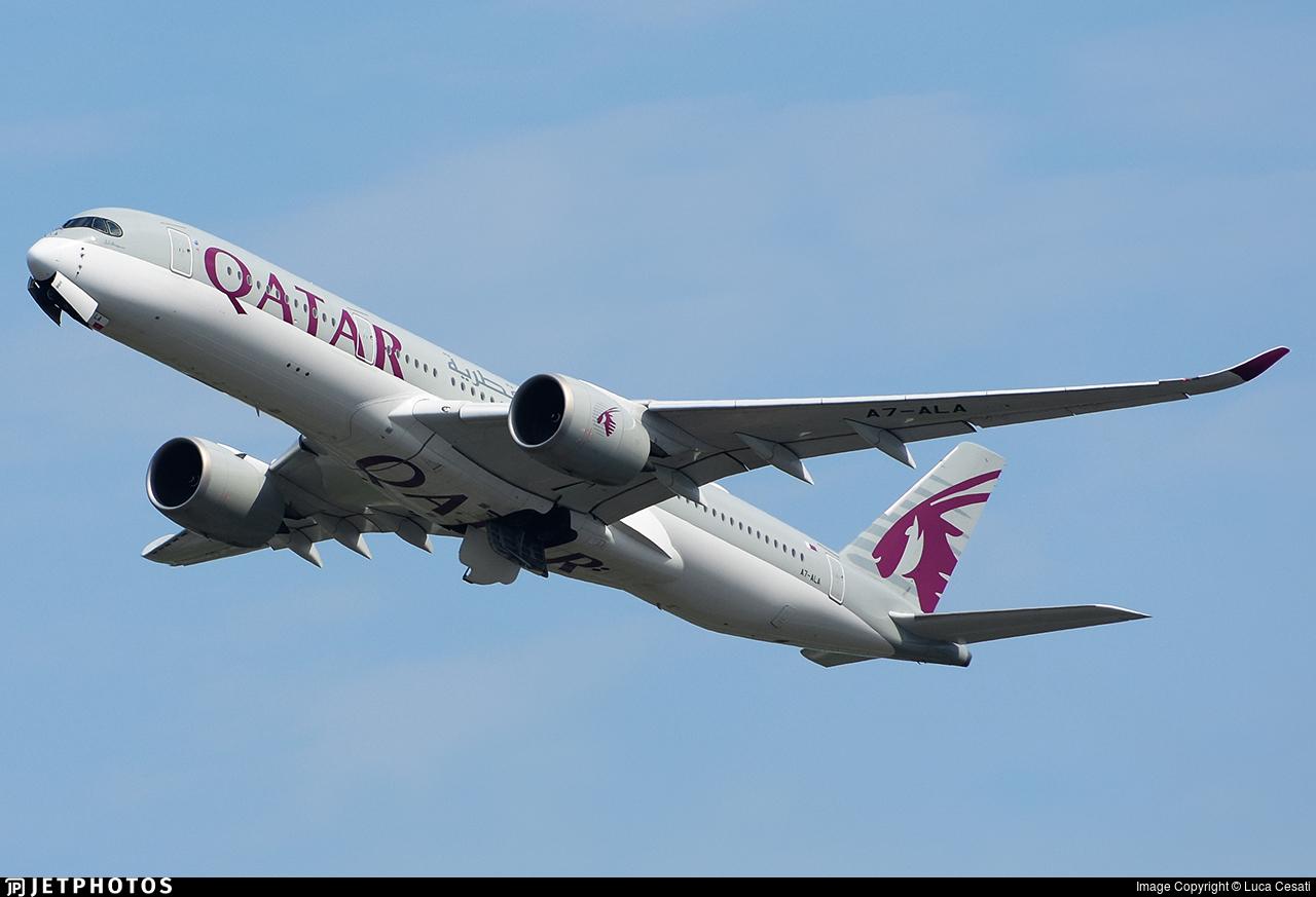 A7-ALA - Airbus A350-941 - Qatar Airways
