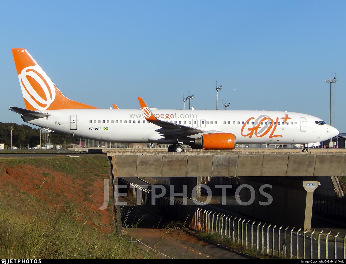 PR-VBL - Boeing 737-8EH - GOL Linhas Aéreas