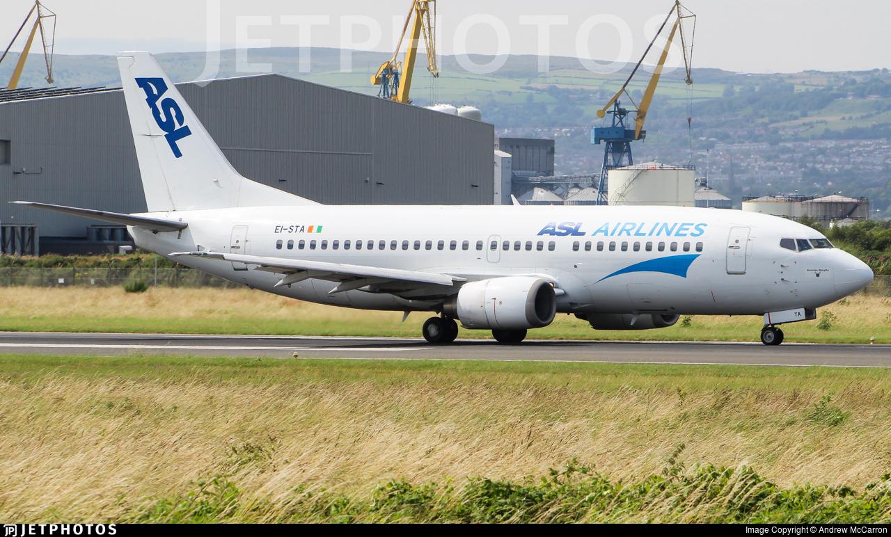 EI-STA - Boeing 737-31S - ASL Airlines
