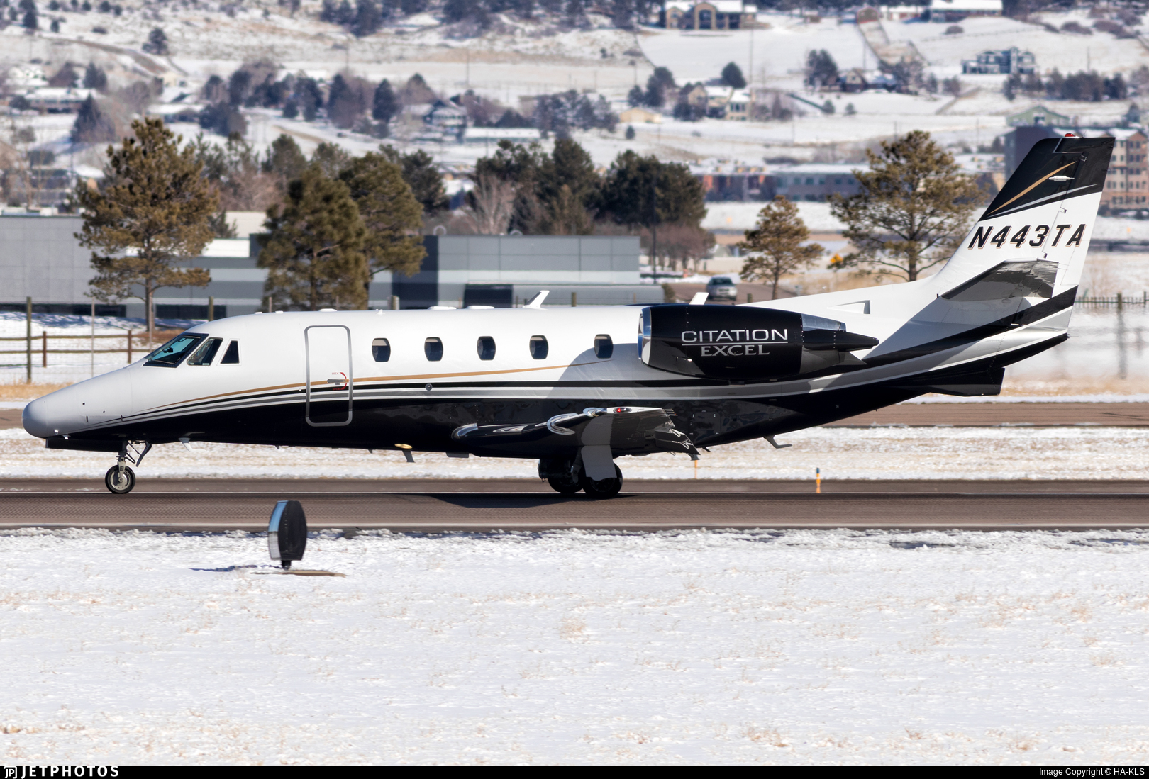 N443TA - Cessna 560XL Citation Excel - Private