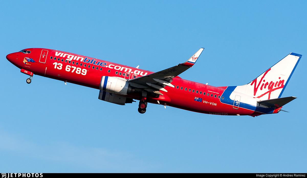 VH-VON - Boeing 737-8FE - Virgin Blue Airlines