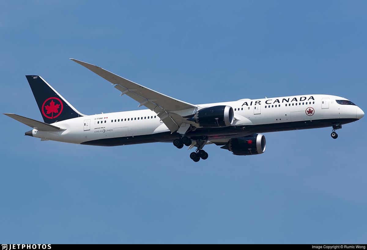 C-FVNB - Boeing 787-9 Dreamliner - Air Canada