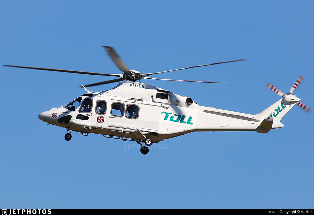 VH-TJI | Agusta-Westland AW-139 | Toll Helicopters NSW | Mark H