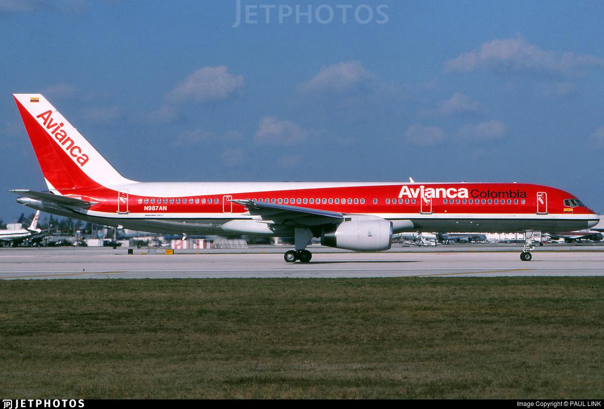 N987AN - Boeing 757-23A - Avianca