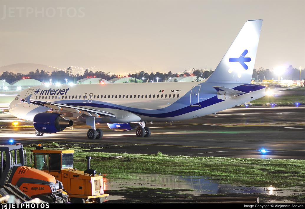 XA-BIG - Airbus A320-214 - Interjet