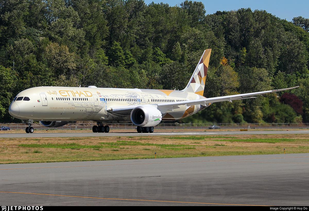 N8572C - Boeing 787-10 Dreamliner - Etihad Airways