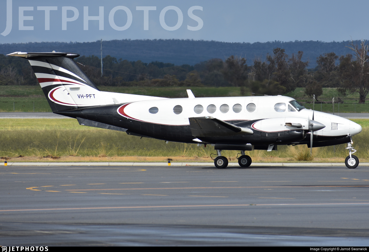 VH-PFT - Beechcraft 200 Super King Air - Airflite