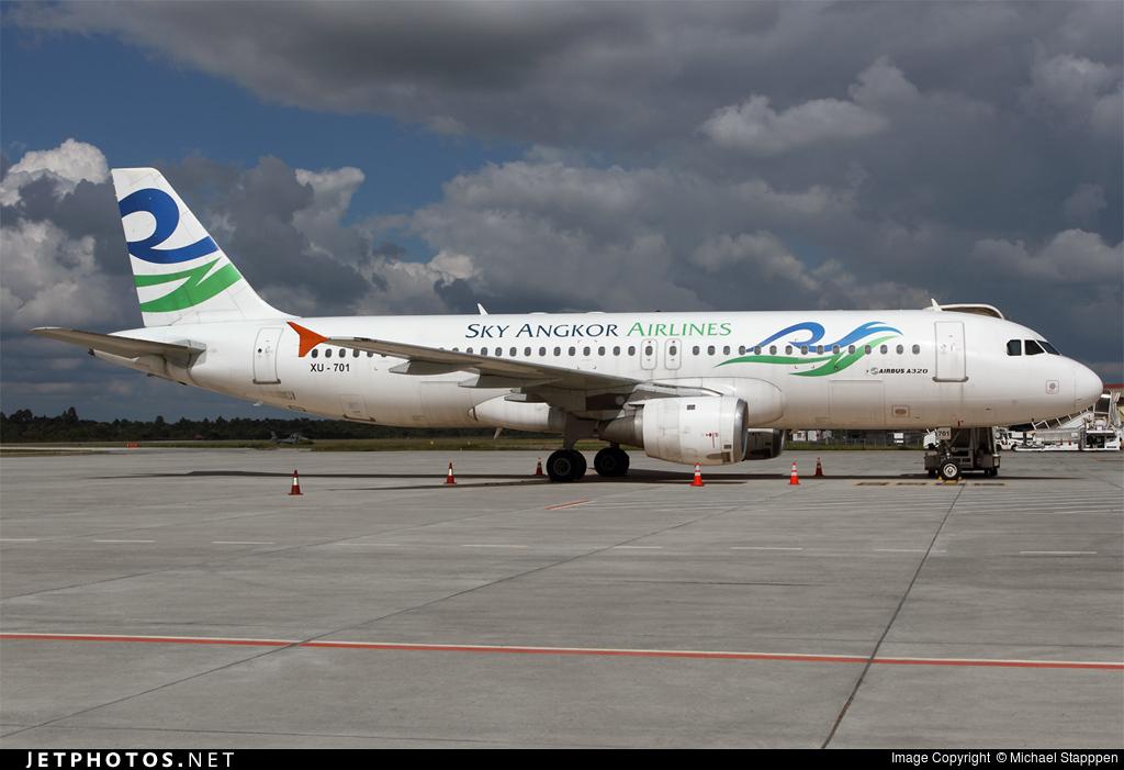 XU-701 - Airbus A320-212 - Sky Angkor Airlines
