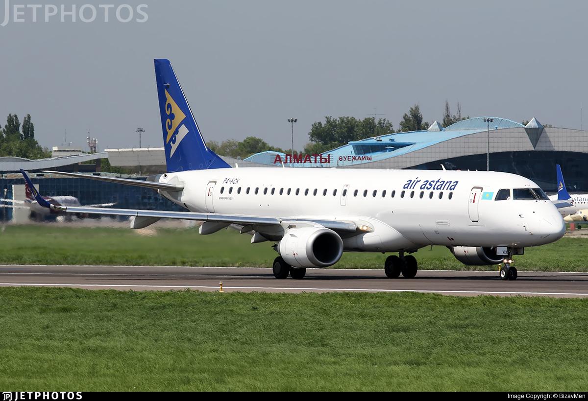 P4-KCK - Embraer 190-100LR - Air Astana