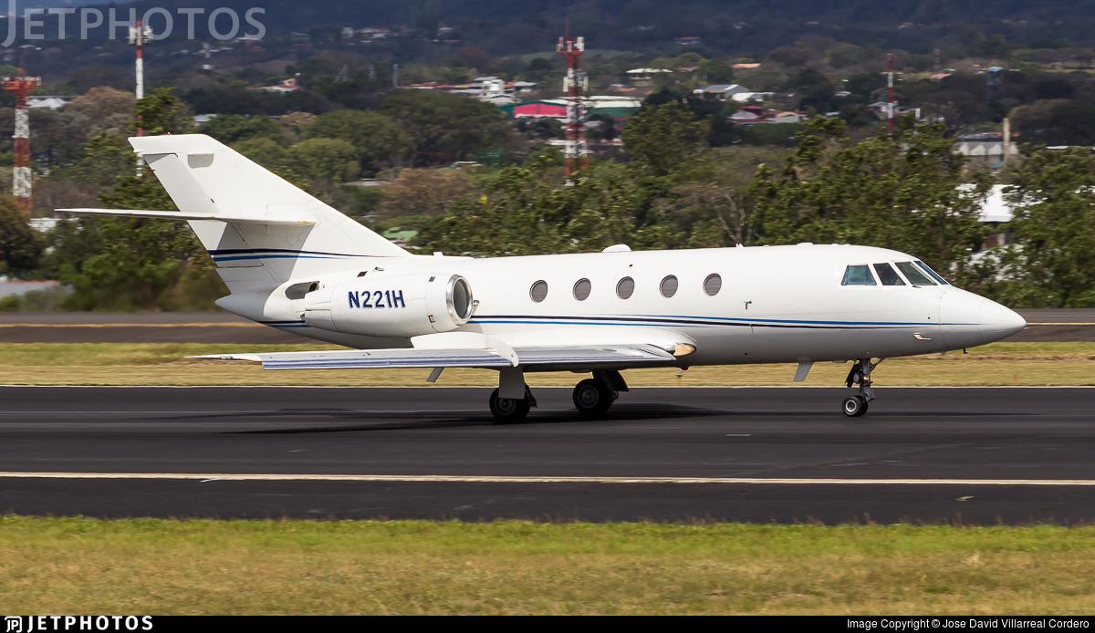 N221H - Dassault Falcon 20F - Private