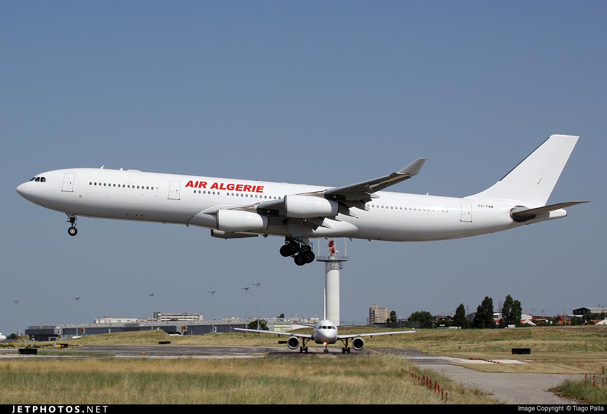 CS-TQM - Airbus A340-313X - Air Algerie (HiFly)