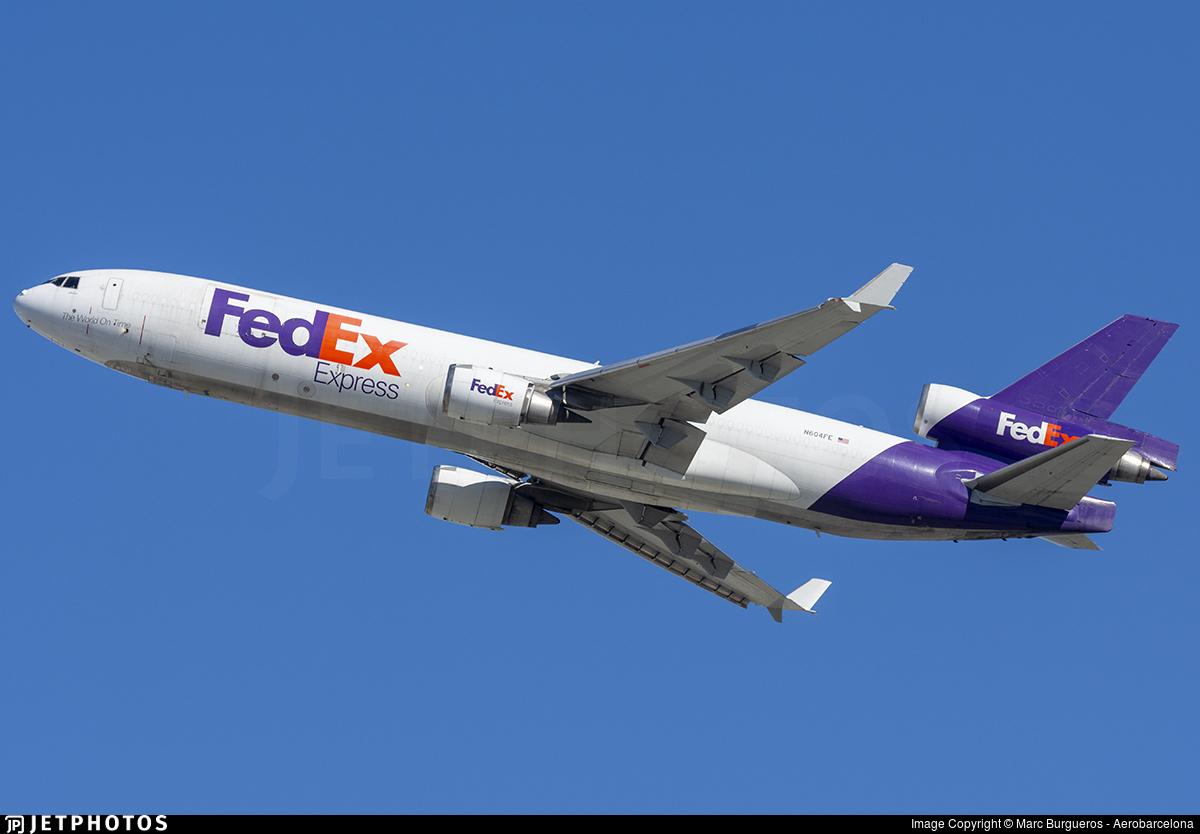 N604FE - McDonnell Douglas MD-11(F) - FedEx