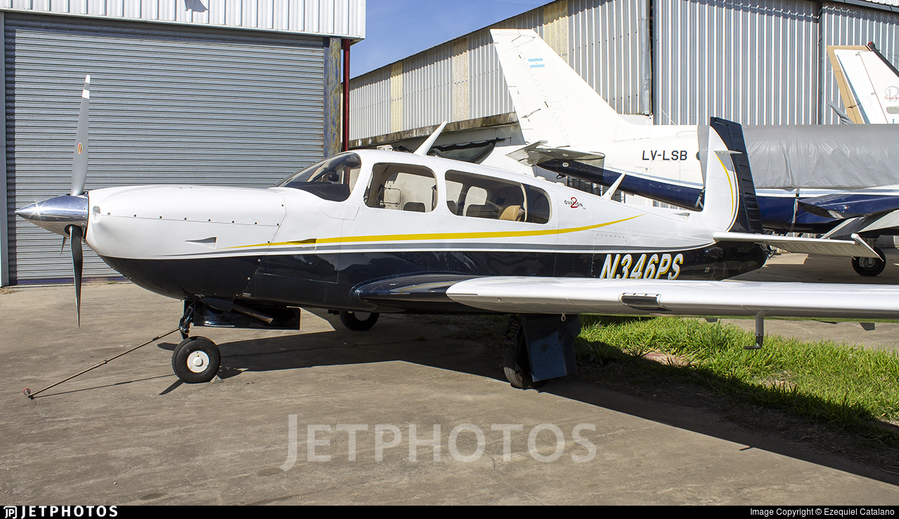 N346PS - Mooney M20R Ovation - Private