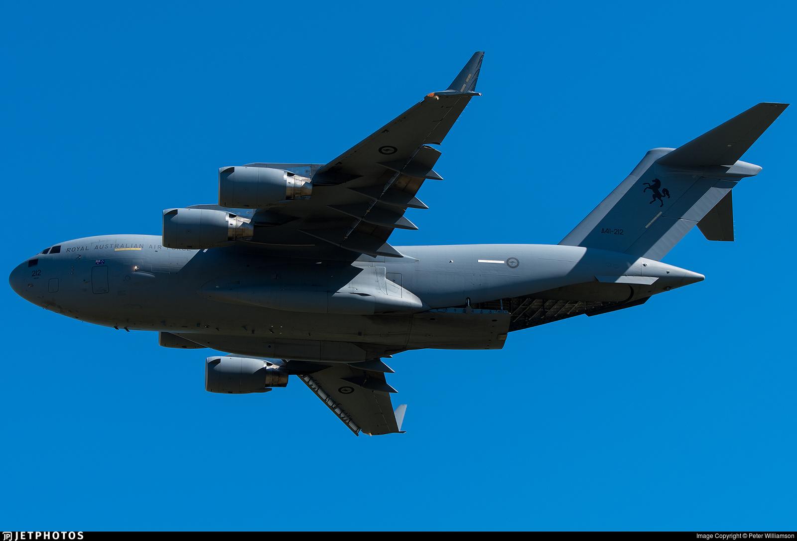 A41-212 - Boeing C-17A Globemaster III - Australia - Royal Australian Air Force (RAAF)