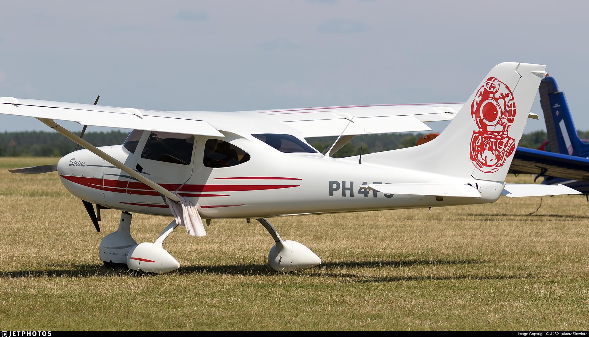 PH-4F9 - TL Ultralight TL-3000 Sirius - Private