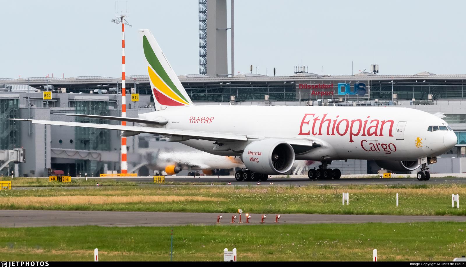 ET-APU - Boeing 777-F6N - Ethiopian Cargo