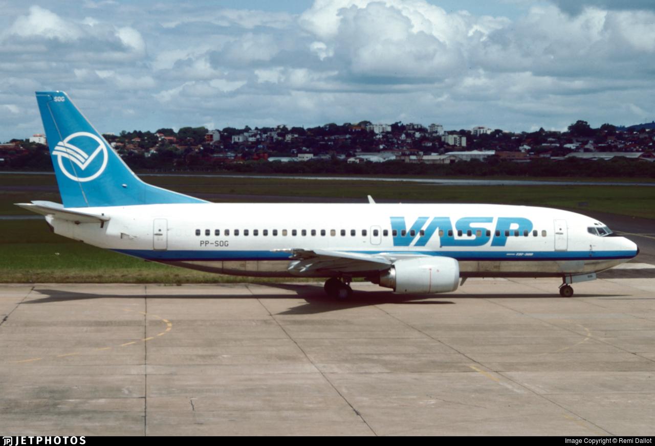 PP-SOG - Boeing 737-33A - VASP