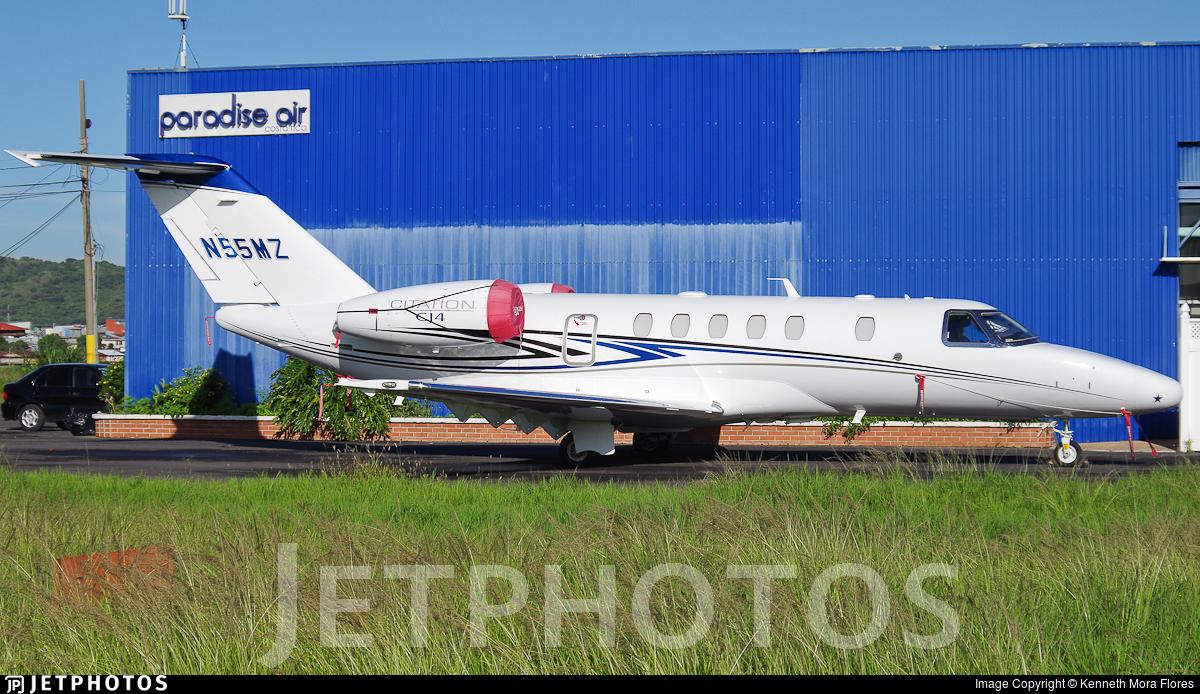 N55MZ - Cessna 525C CitationJet 4 - Private