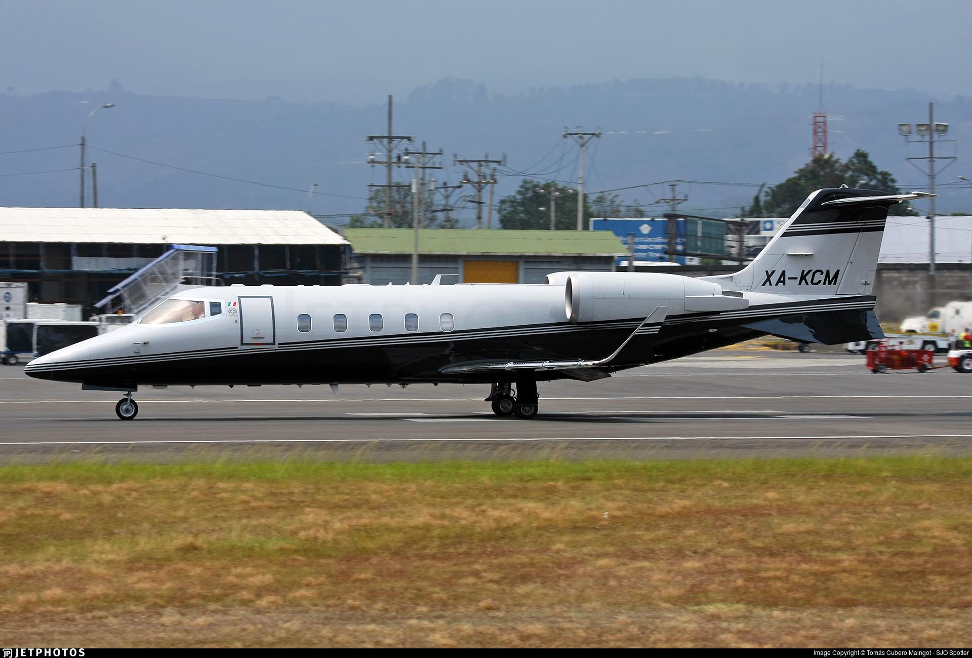 XA-KCM - Bombardier Learjet 60 - Private