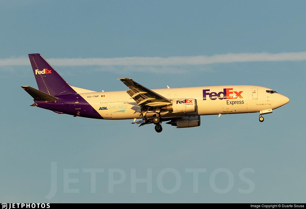 OO-TNP - Boeing 737-45D(SF) - FedEx (ASL Airlines)
