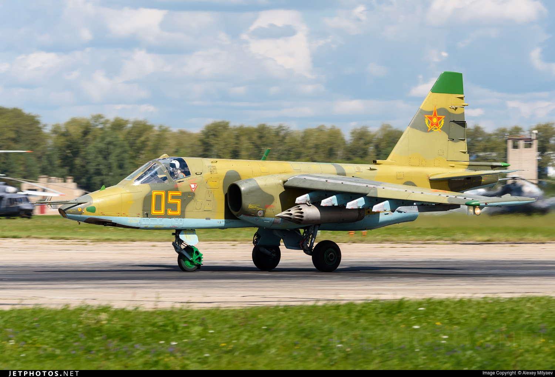 05 - Sukhoi Su-25 Frogfoot - Kazakhstan - Air Force