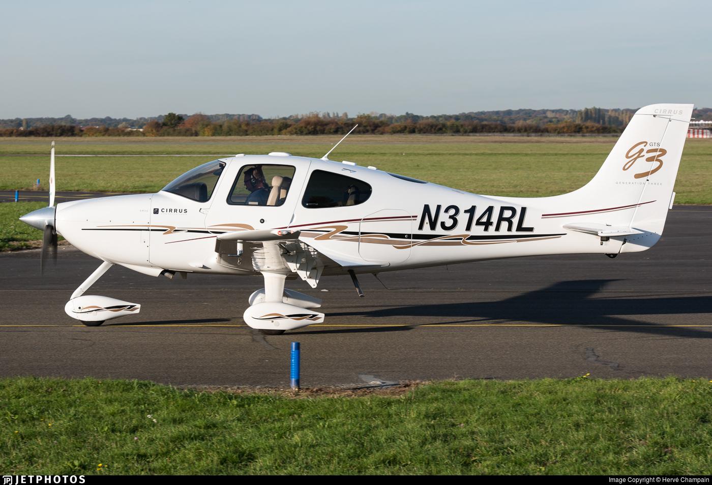 N314RL - Cirrus SR22-GTS G3 - Private