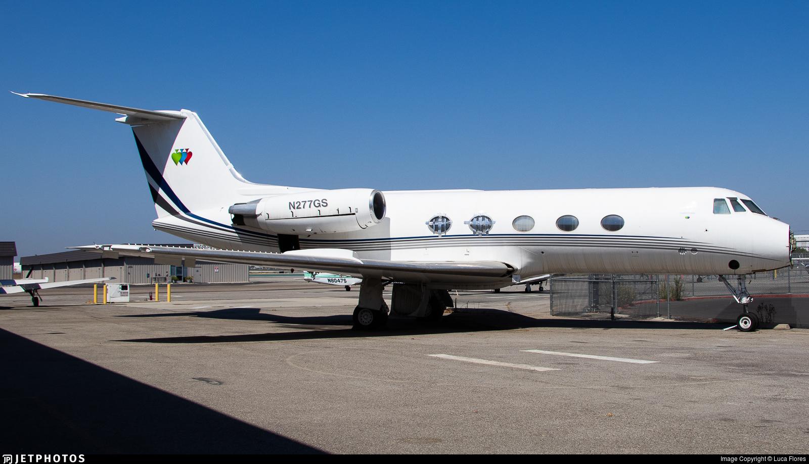 N277GS - Gulfstream G-II - Private