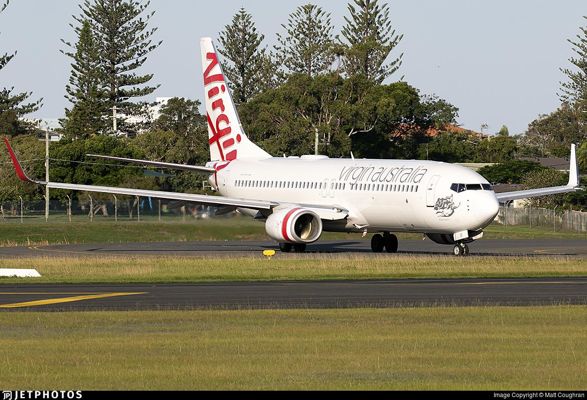 VH-YIE - Boeing 737-8FE - Virgin Australia Airlines