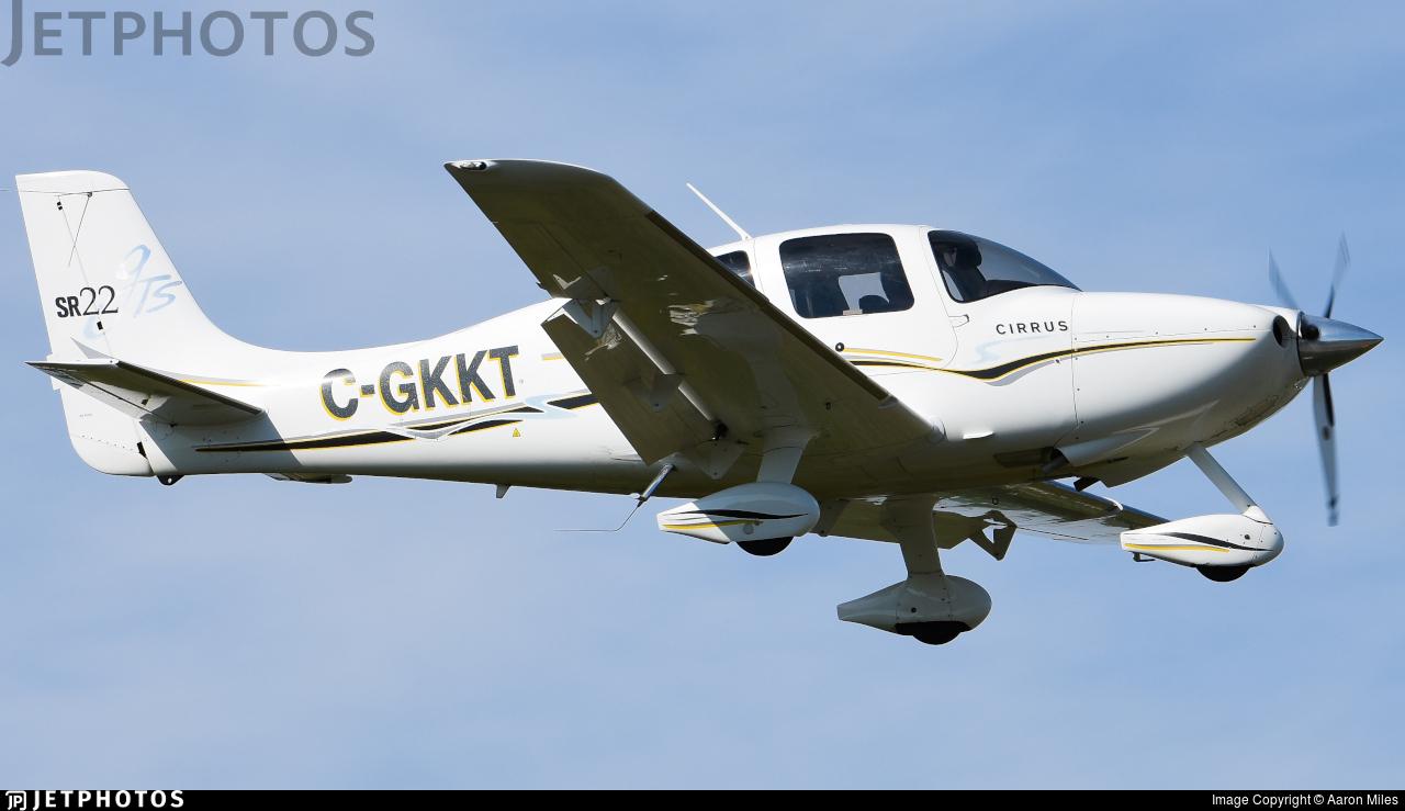 C-GKKT - Cirrus SR22-GTS - Private