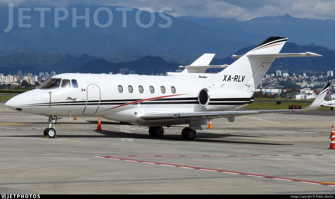 XA-RLV - British Aerospace BAe 125-800A - Private