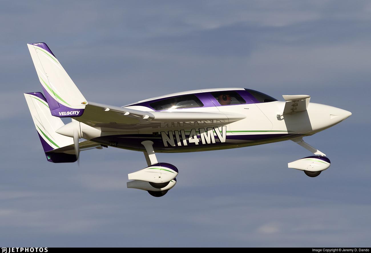 N114MV - Velocity XL-FG - Private