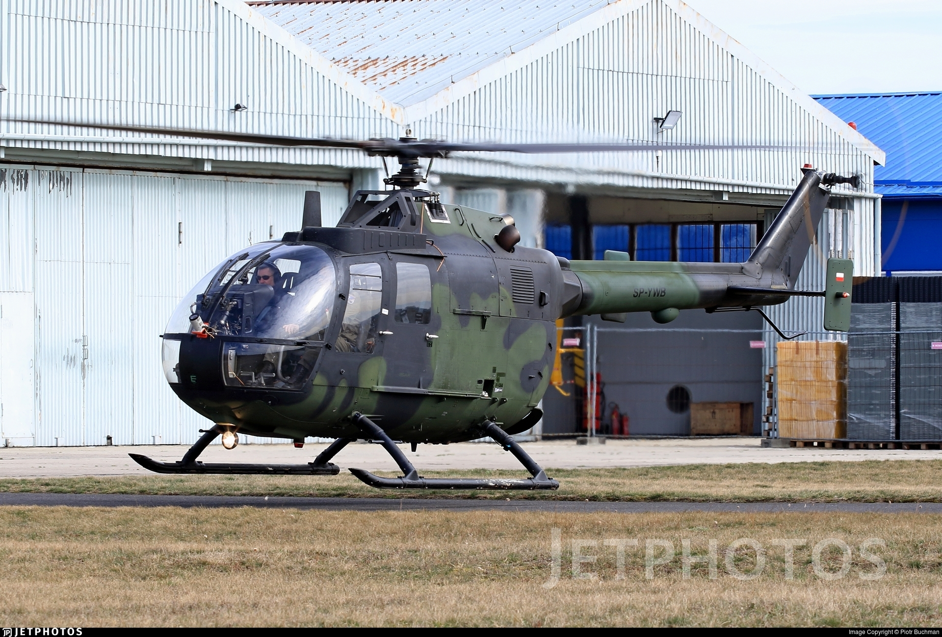 SP-YWB - MBB Bo105P1 - Private