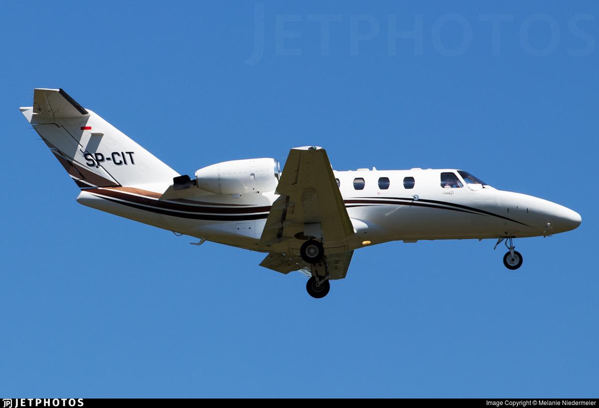 SP-CIT - Cessna 525 Citationjet CJ1 - Bartolini Air