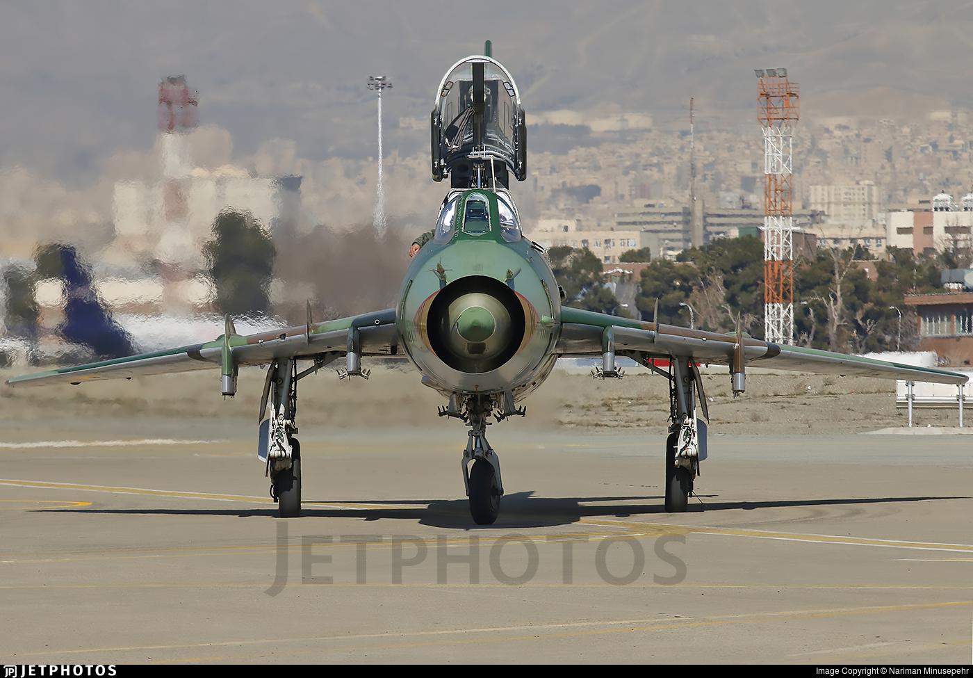 15-2464 - Sukhoi Su-22UM3K Fitter G - Iran - Revolutionary Guard